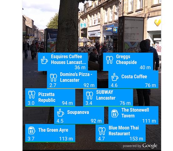 Приложение Girls Around Me на Android показывает чекины девушек в округе СОФТ