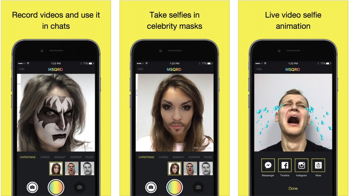 Приложения для айфона видео с изменением лица