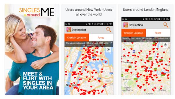 популярное приложение для знакомств android