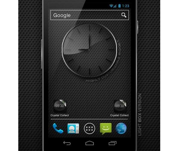Стеклянные часы PRO для Android СОФТ