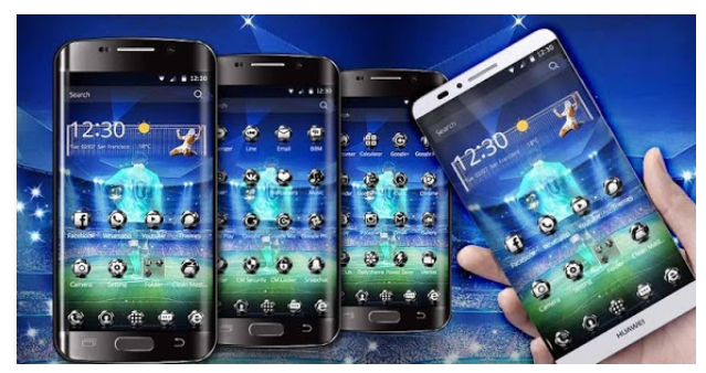 Футбольные темы на Андроид СОФТ