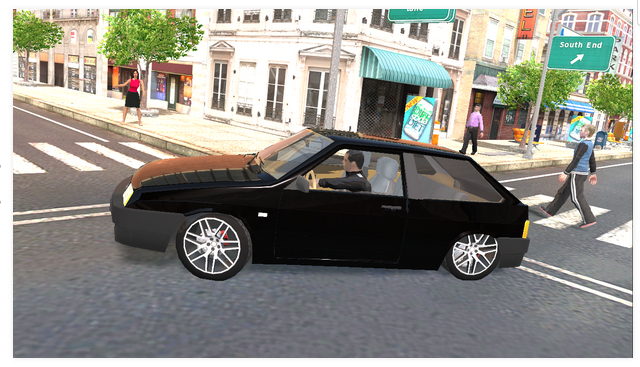 «Симулятор Автомобиля» для Android Игры