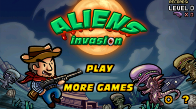 Aliens Invasion на Андроид Игры