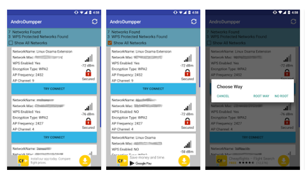 AndroDumpper ( WPS Connect ) для Android СОФТ