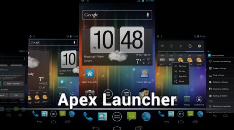 Apex Launcher Pro для Android СОФТ