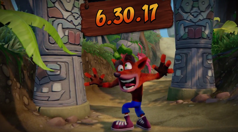 Возвращение! Crash Bandicoot N. Sane Trilogy выйдет на PlayStation 4 Новости