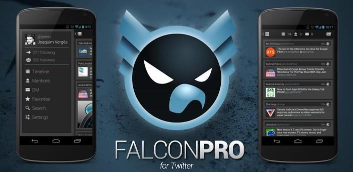 Falcon Pro для Андроид СОФТ