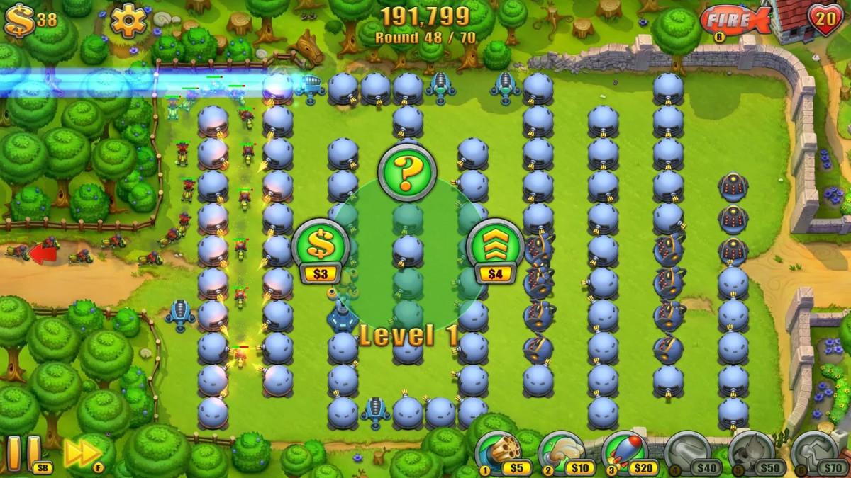 Fieldrunners HD для Android Игры