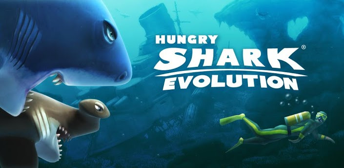 Hungry Shark Evolution для Андроид Игры