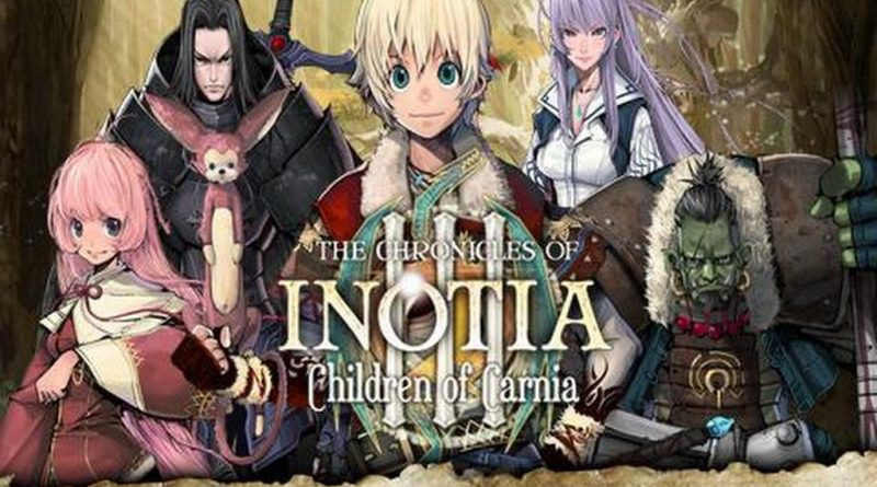 Inotia3: Children of Carnia на Андроид Игры
