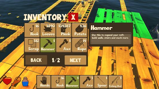 Игра на выживание Raft Survival Simulator Android Игры