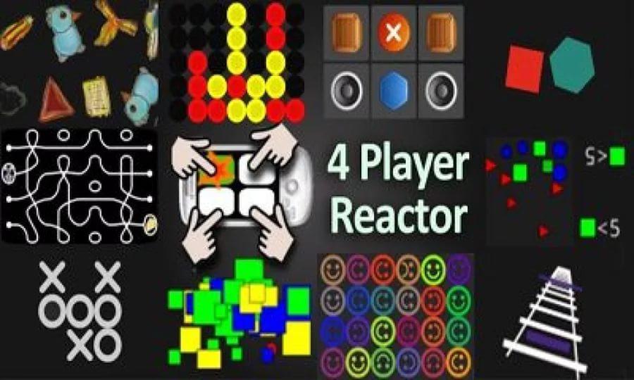 4 игрока Reactor для Андроид  - старая, но классная! Игры