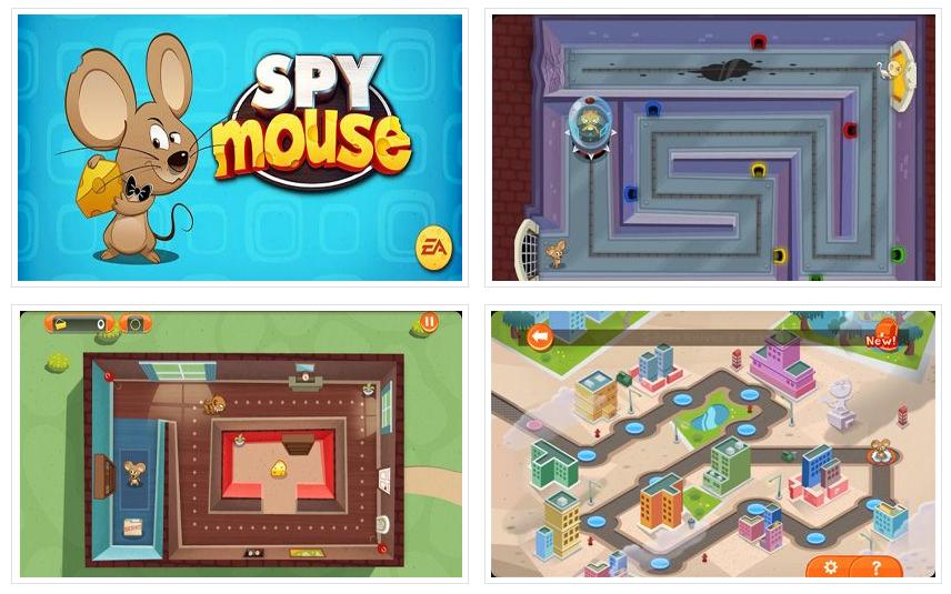 SPY mouse на Андроид Игры