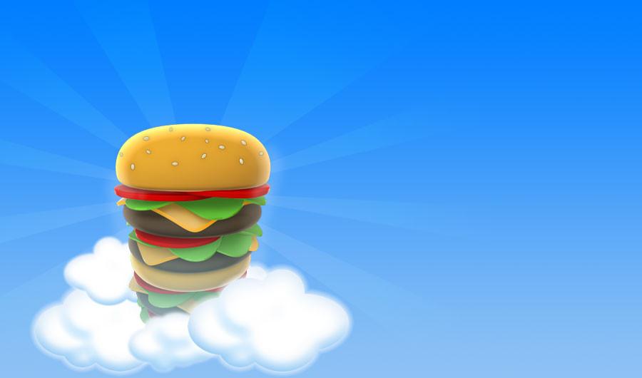 Казуальная игра Sky Burger для Android Игры