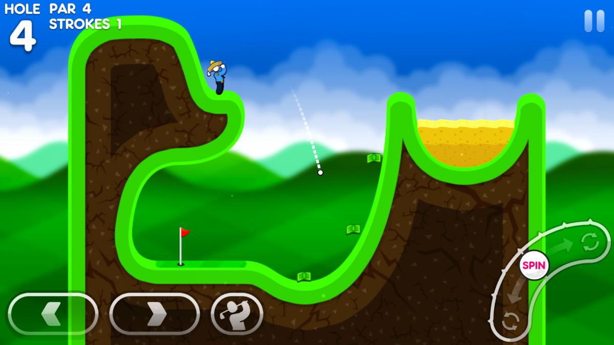 Коллекция Super Stickman Golf для Android - 1, 2, 3, части (с бонусом) Игры