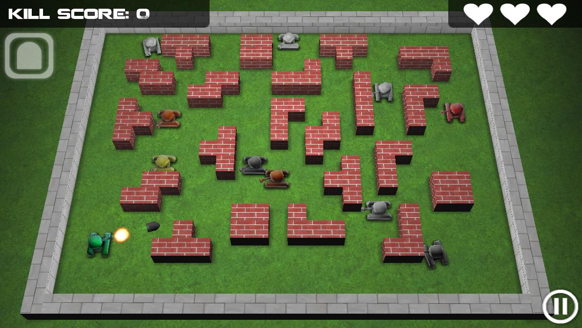 Tank Hero для Android (Ретро игра с душой!) Игры