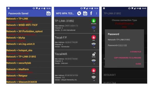 Приложение для взлома WIFI WPS WPA TESTER для Android СОФТ