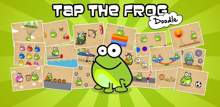 Старая Tap the Frog: Doodle для Android Игры