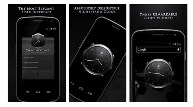 Thalion Clock для Android СОФТ