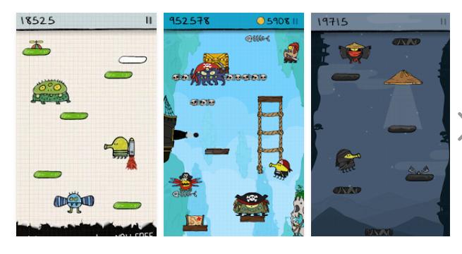 Doodle Jump на Андроид Игры