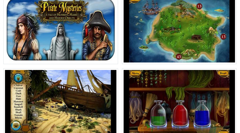Pirate Mysteries на Андроид Игры