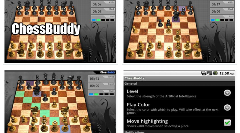 ChessBuddy на Андроид Игры