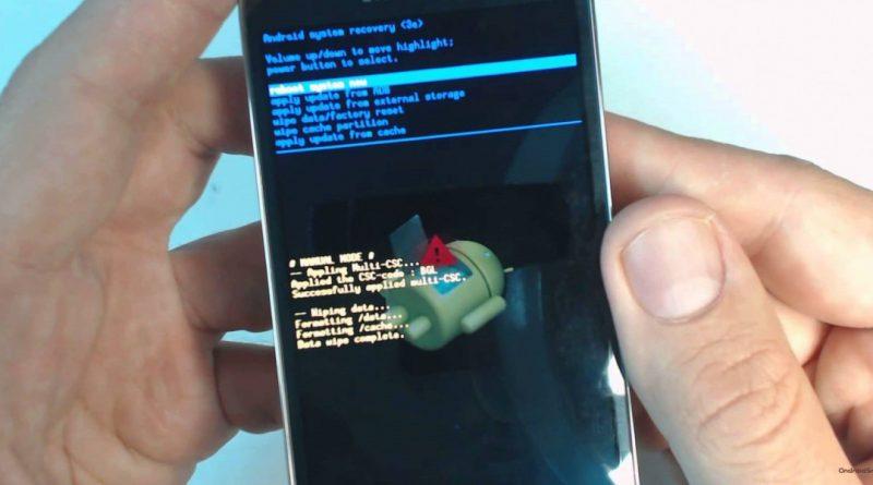 Hard Reset (полный сброс) или воскрешение Android Cтатьи FAQ по Андроид