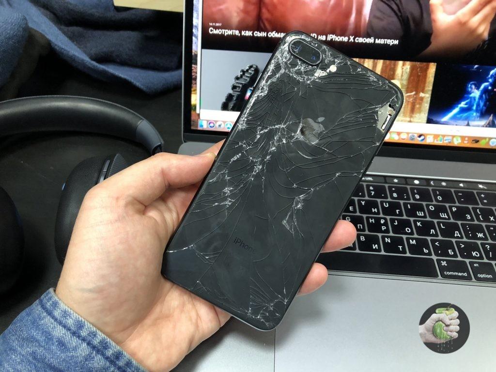 Замена стекла iPhone 8 Plus Cтатьи iOS
