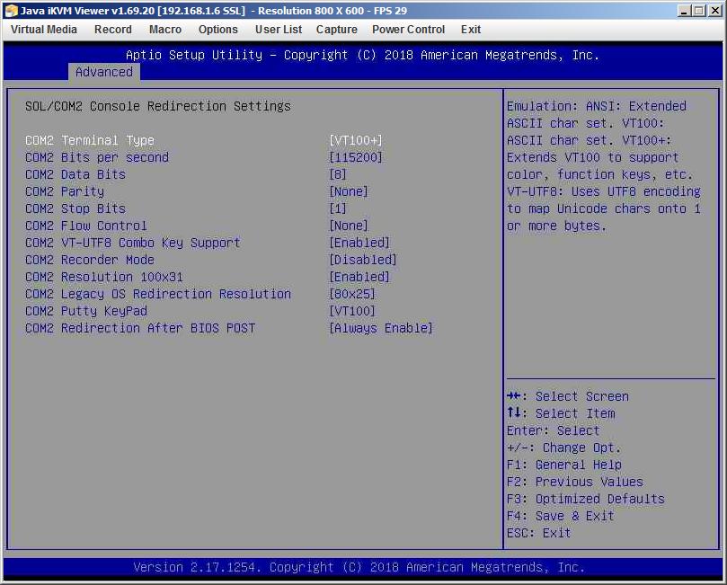 Консоль-редирект в IPMIView Cтатьи