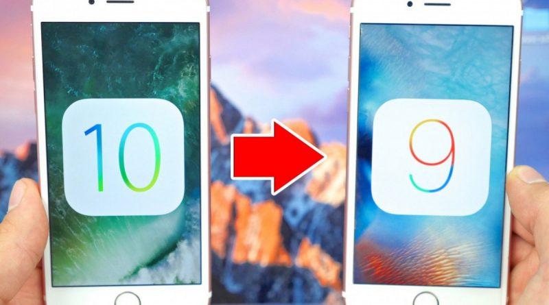 Как откатиться с iOS 10 на iOS 9.3.5 без проблем Cтатьи