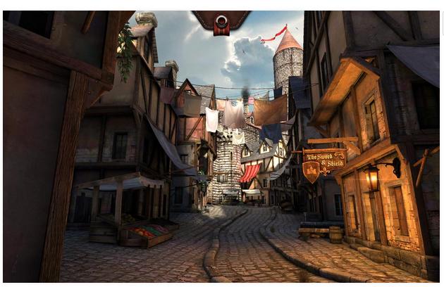 Игра Epic Citadel для Android Игры