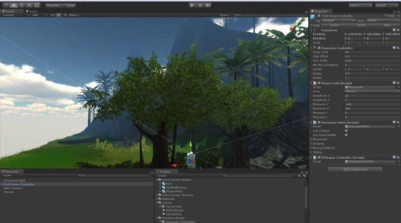 Как сделать 3D игру на Unity за 30 минут? Обучение