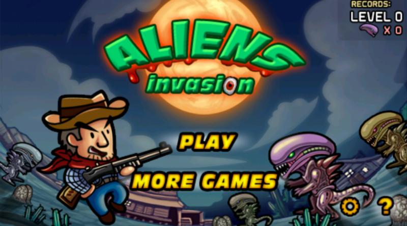 Aliens Invasion на Андроид Игры
