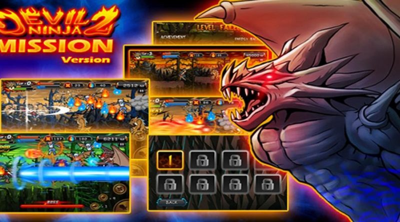 Devil Ninja2 для Android - Любимый Экшен! Игры