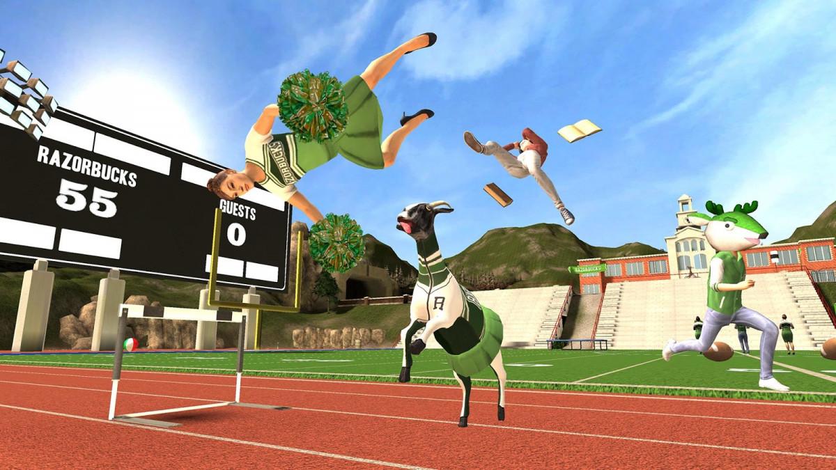 Goat Simulator для Андроид (Бесплатный симулятор козла на Андроид) Игры