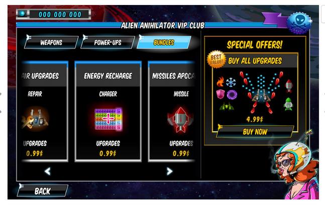 Старая добрая A Space Shooter For Free для Android Игры