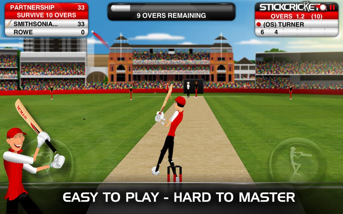 Игра Stick Cricket - подобие крокета на Андроид Игры