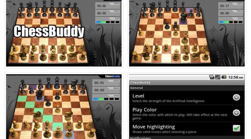 ChessBuddy™ - Шахматы на Андроид Игры